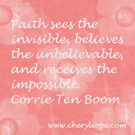 quote on faith by corrie ten boom