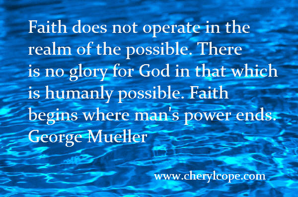quote on faith by george mueller