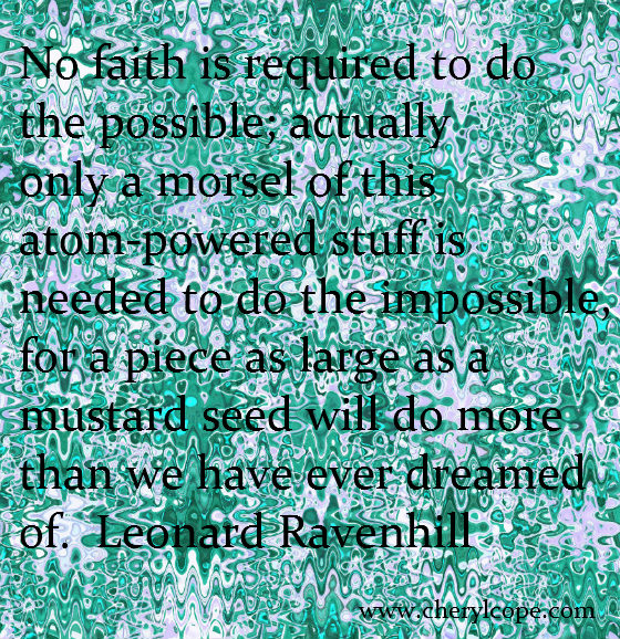 quote on faith by leonard ravenhill