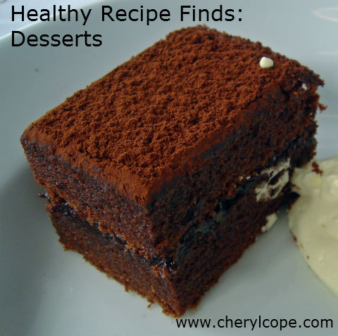 recipes for healthy desserts