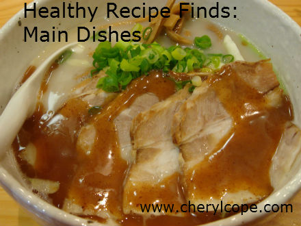 healthy main dish recipes