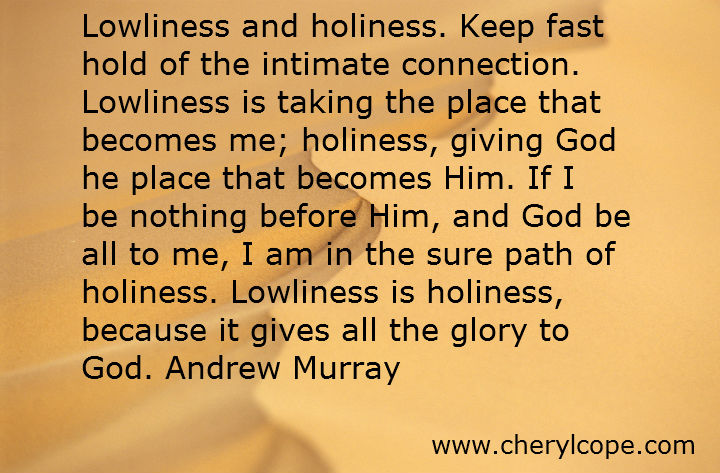 christian quotes on holiness part cheryl cope