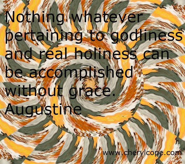 holiness quote by augustine