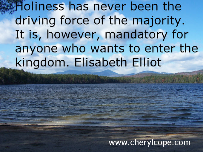 holiness quote by elizabeth elliot