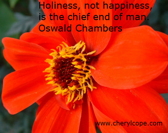 holiness quote by oswald chambers