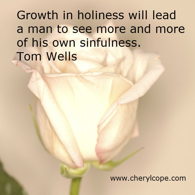 holiness quote by tom wells