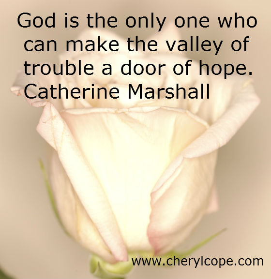 quote on hope by catherine marshall