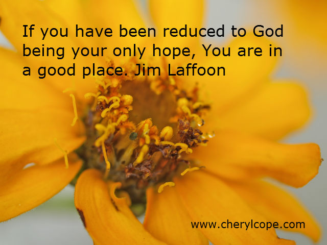 quote on hope by Jim Laffoon