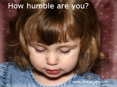 humble looking little girl