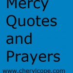 Mercy Quotes and Prayers