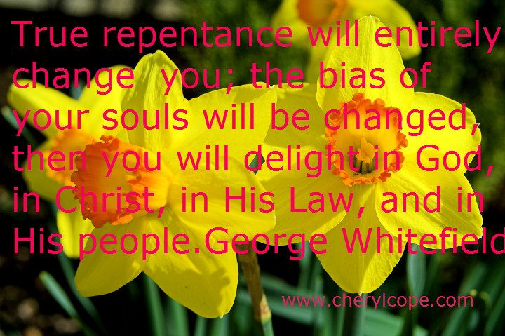 Repentance Quotes and Prayers