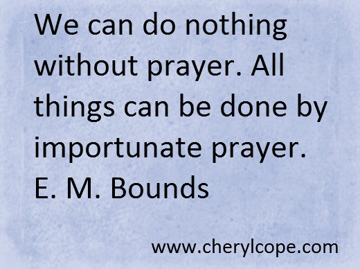 quote on prayer