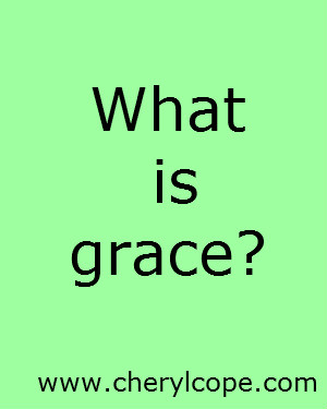 What is grace