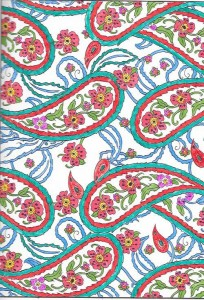 From Paisley Designs Coloring Book Dover Design Books 007 008 009