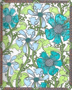 From Creative Haven Floral Designs Coloring Book Books 012 011 010