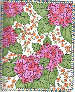From Creative Haven Floral Designs Coloring Book Books 012 011