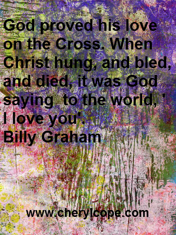 cross quote billy graham