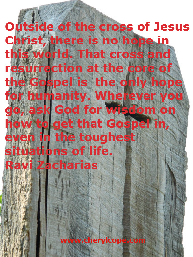 Quotes on the Cross of Christ | Cheryl Cope