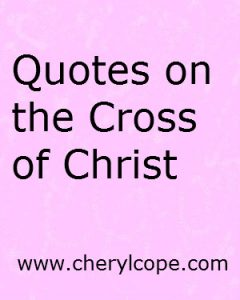 quotesonthecrossofchrist